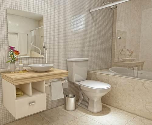 Notícias -> Obras Banheiro Pequeno